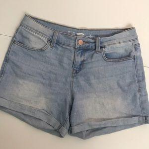 Old Navy Shorts - Old Navy Semi-Fitted Light Wash Denim Shorts sz 2